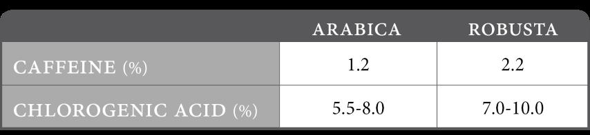 caffeine-va-acid-chlorogenic-trong-arabica-robusta